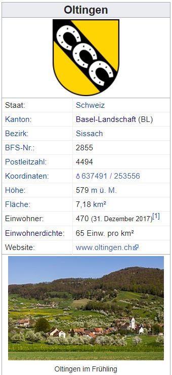 Oltingen BL - 470 Einwohner Zi52