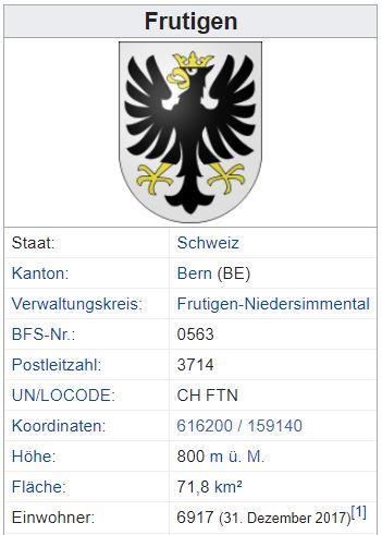 Kanderbrück (Frutigen) BE - xxx Einwohner Zi75