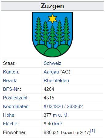 Zuzgen AG - 886 Einwohner Zuzgen11