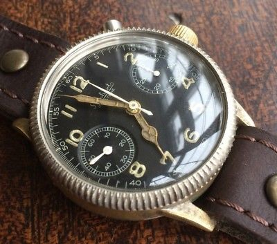 Estimation montre Hanhart Luftwaffe WW2 Pilot S-l40011