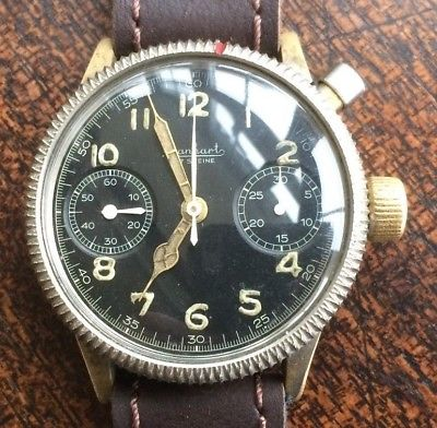 Estimation montre Hanhart Luftwaffe WW2 Pilot S-l40013