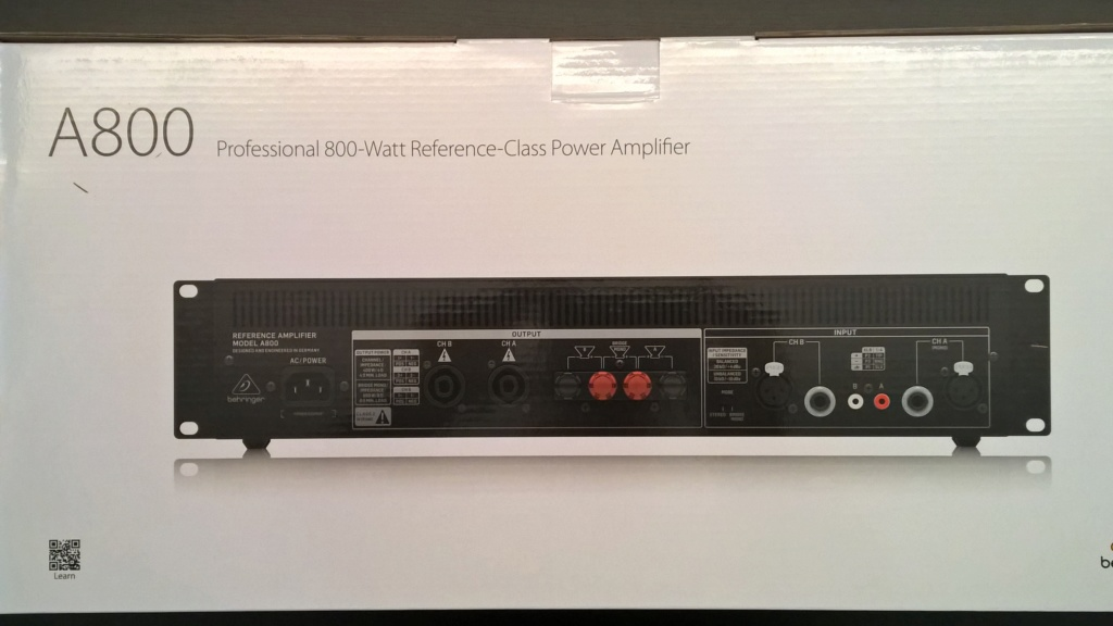 Behringer A800 (2x400W o 1x800W in classe D) - Pagina 6 Wp_20113