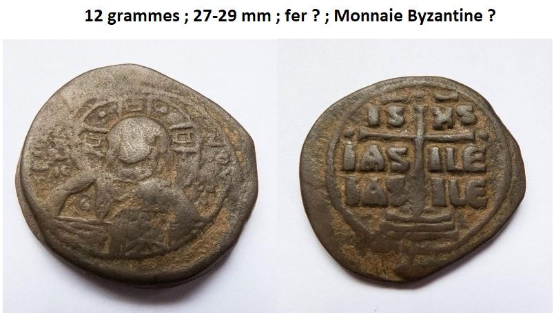Un follis byzantins pour Romanus III et deux pour Constantin X ... Byzant10