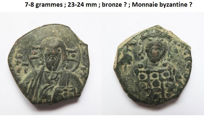 Un follis byzantins pour Romanus III et deux pour Constantin X ... Byzant11