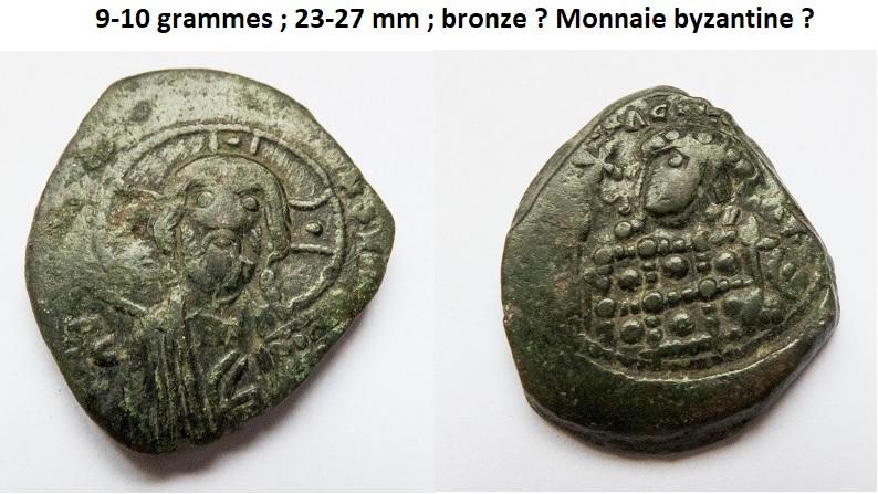 Un follis byzantins pour Romanus III et deux pour Constantin X ... Byzant12