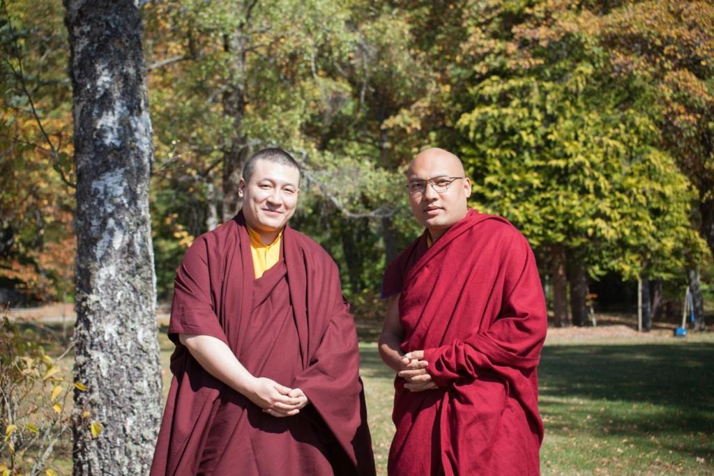 Rencontre des deux Karmapa en France 1_10