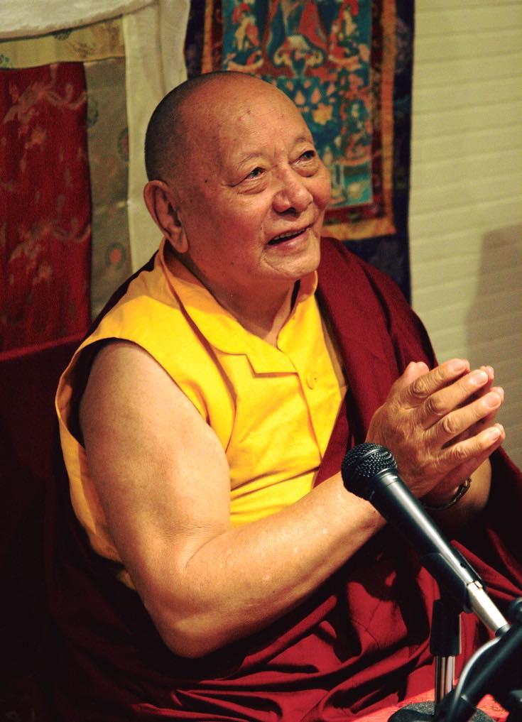 Décès du Khenpo Karthar Rimpoché à 96 ans , le 6 octobre 2019 72290210