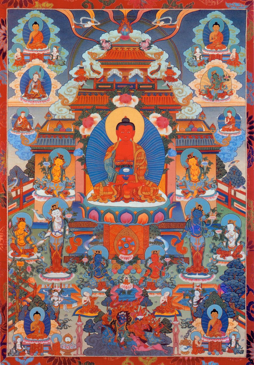Enseignements en ligne de Tergar Asia par Yongey Mingyour Rimpoché . Buddha10