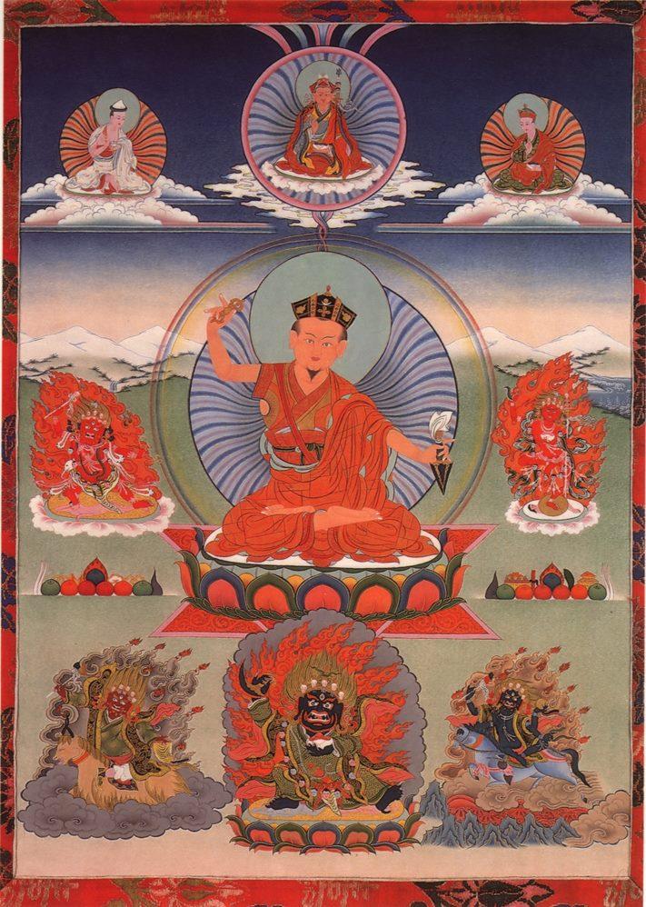 Rituel annuel, Drouptcheu de Karmapakshi , à Bruxelles Karmap10