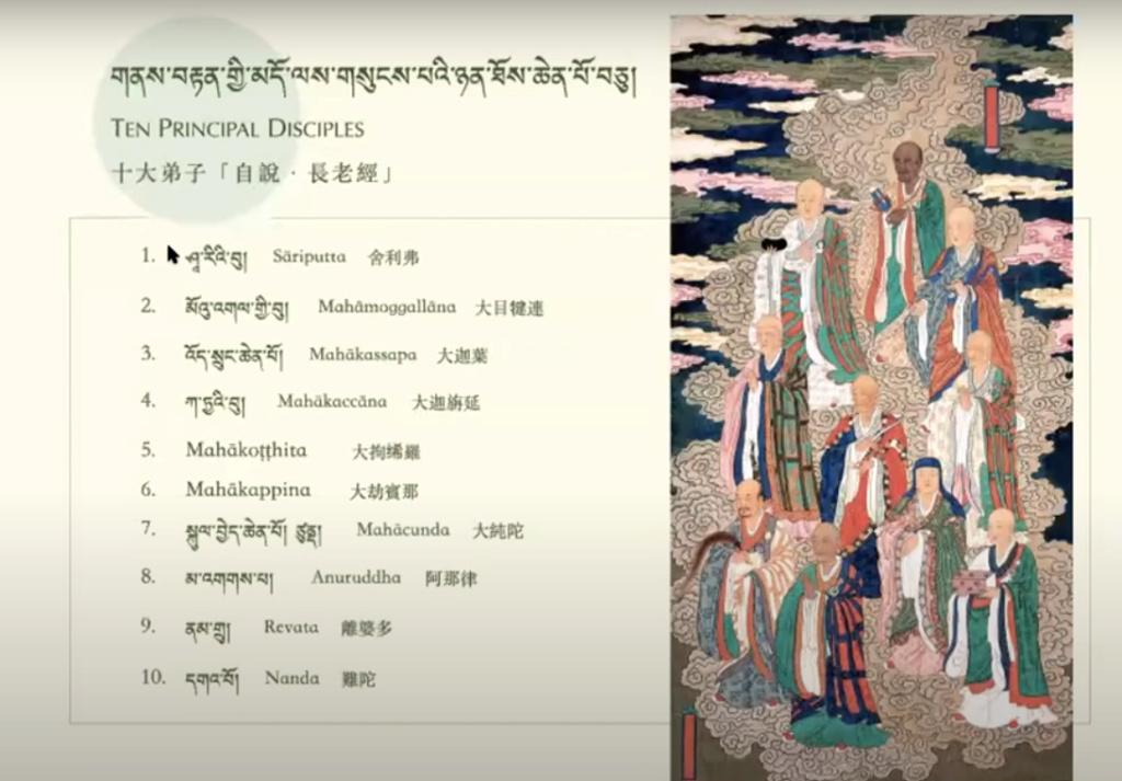 Les disciples du Bouddha... Les_di10