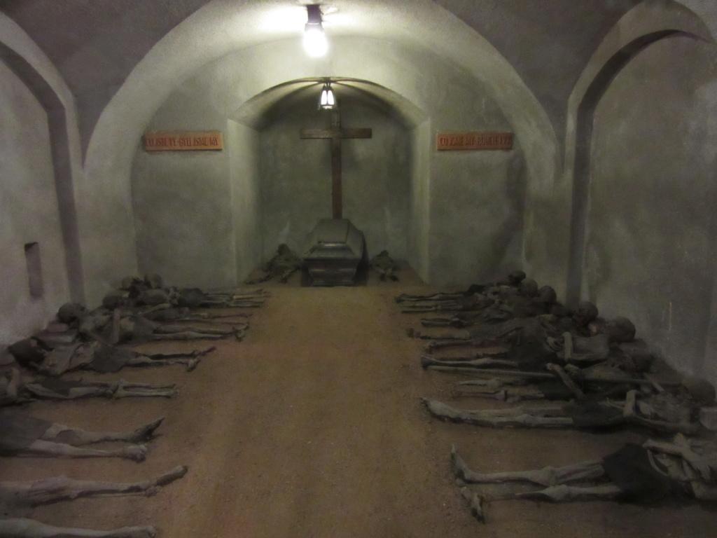 Dans la crypte des Capucins , à Brno ( Moravie) Red_0338