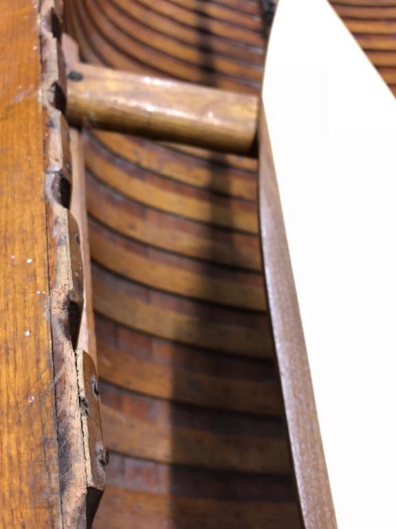Rénovation d'un canoë ROCCA Castor A1607110