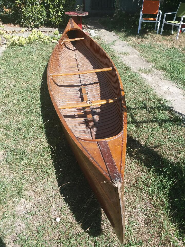 Rénovation d'un canoë ROCCA Castor Fdd40010