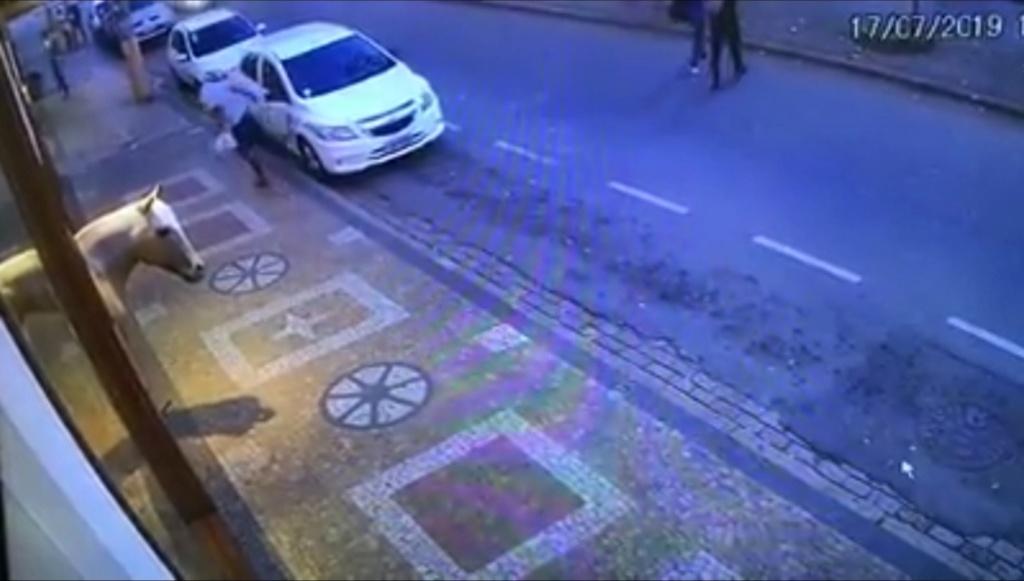 Rapaz que danificou veículo é detido e encaminhado ao Instituto Bezerra de Menezes de Pinhal 51073410