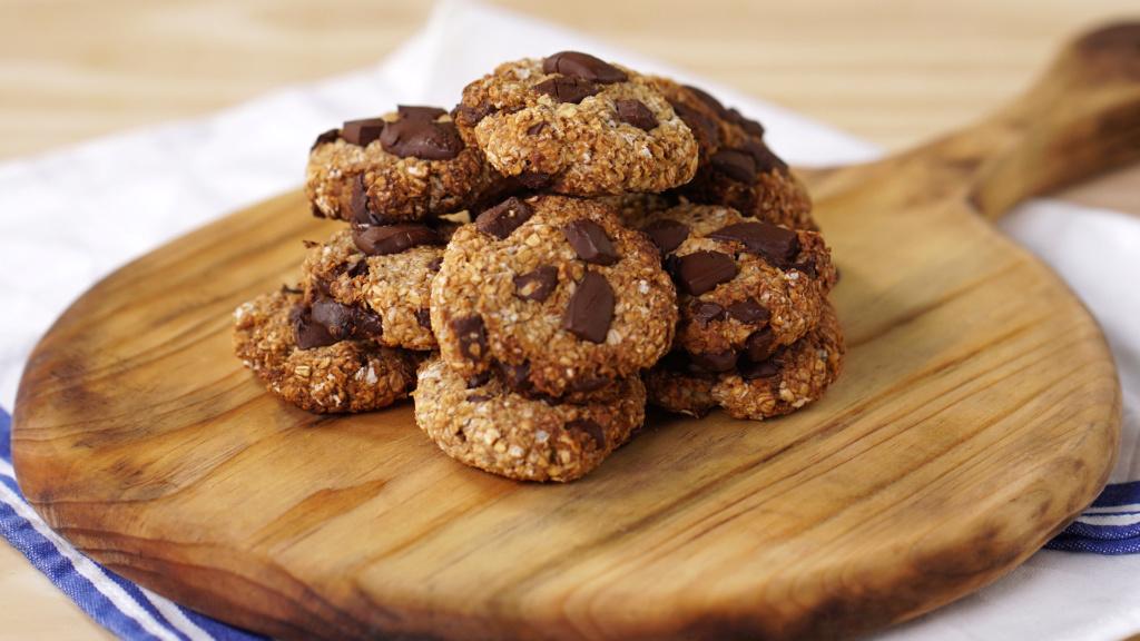 COOKIE DE BANANA COM AVEIA E CHOCOLATE  Cookie10