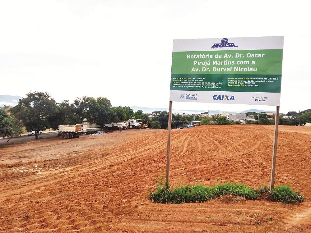 Rotatória entra em fase de finalização da terraplanagem Pag3-c10