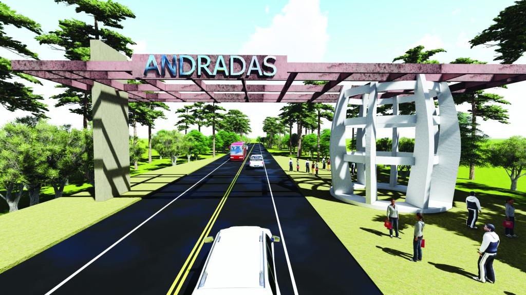 Prefeitura de Andradas anuncia construção de portal turístico Portal10