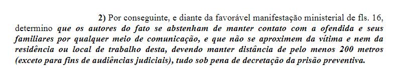 Justiça determina medidas CAUTELARES contra autores de Crime em São João Da Boa Vista . Sem_tz19