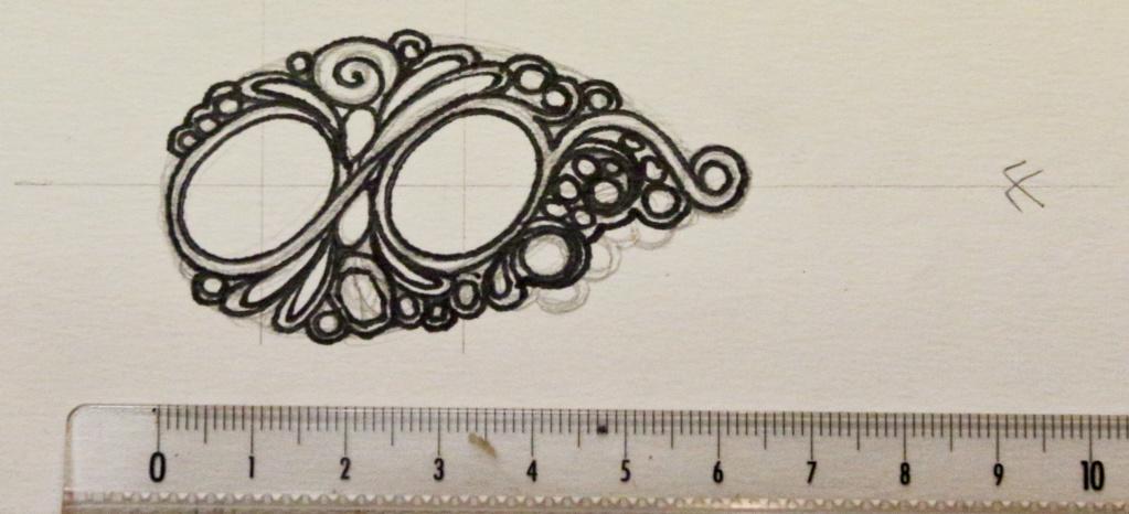 TRANSFÉRER sur métal un motif imprimé au JET D'ENCRE Dessin10