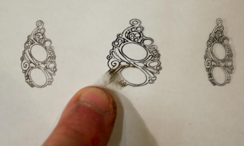 TRANSFÉRER sur métal un motif imprimé au JET D'ENCRE Encre_10