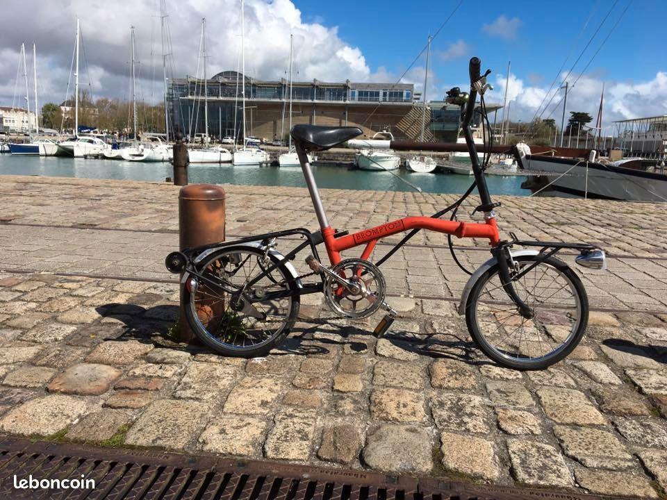 Vélo Brompton 1981 numéro 44 9 000 € ? C1734e11