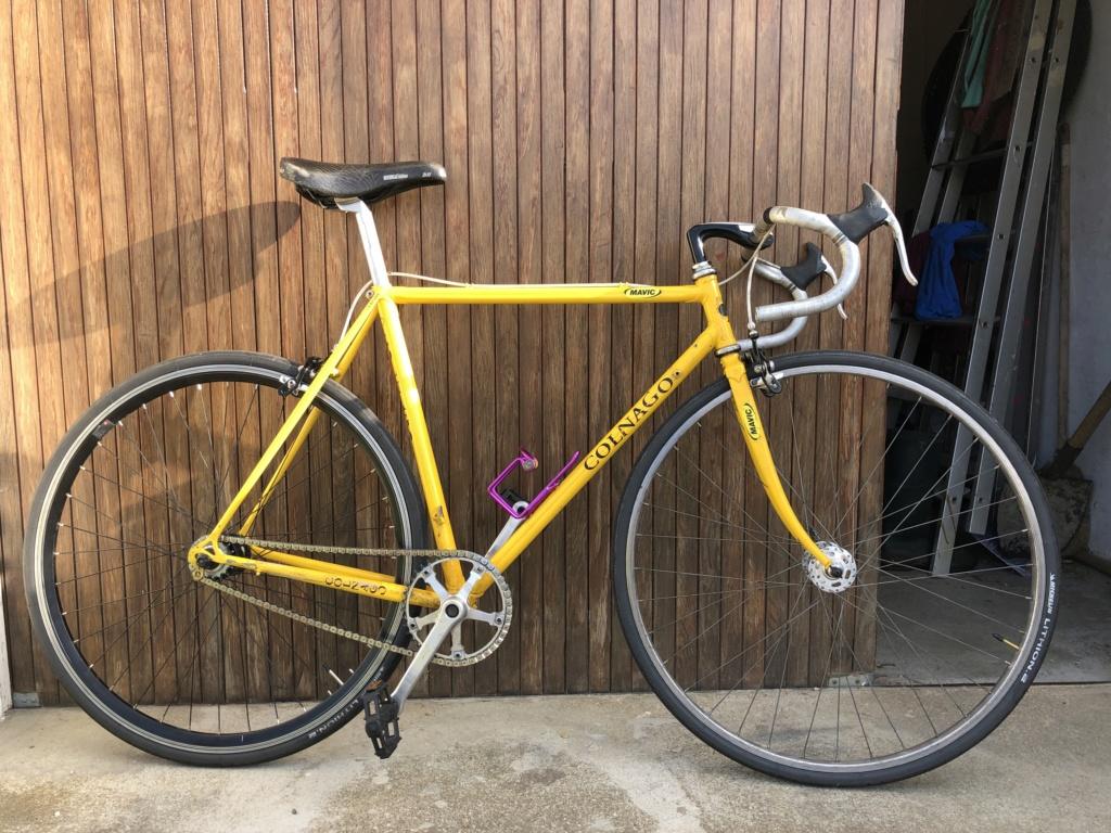 Colnago nuovo Mexico Cx 80's cromovelato D25bb810