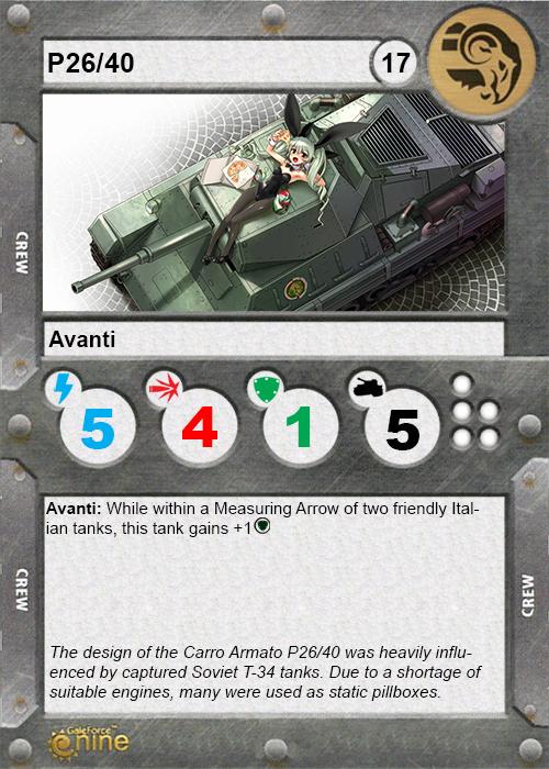 Carro Armato P26/40 Italia10