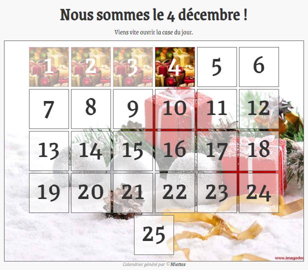 Un calendrier de l'avent Rendu-41