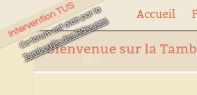 La Tambouille recherche un forum de graphisme Screen45