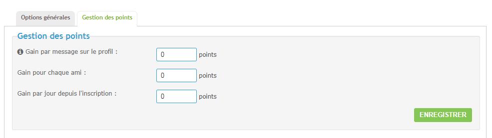 Système de points et offres System11