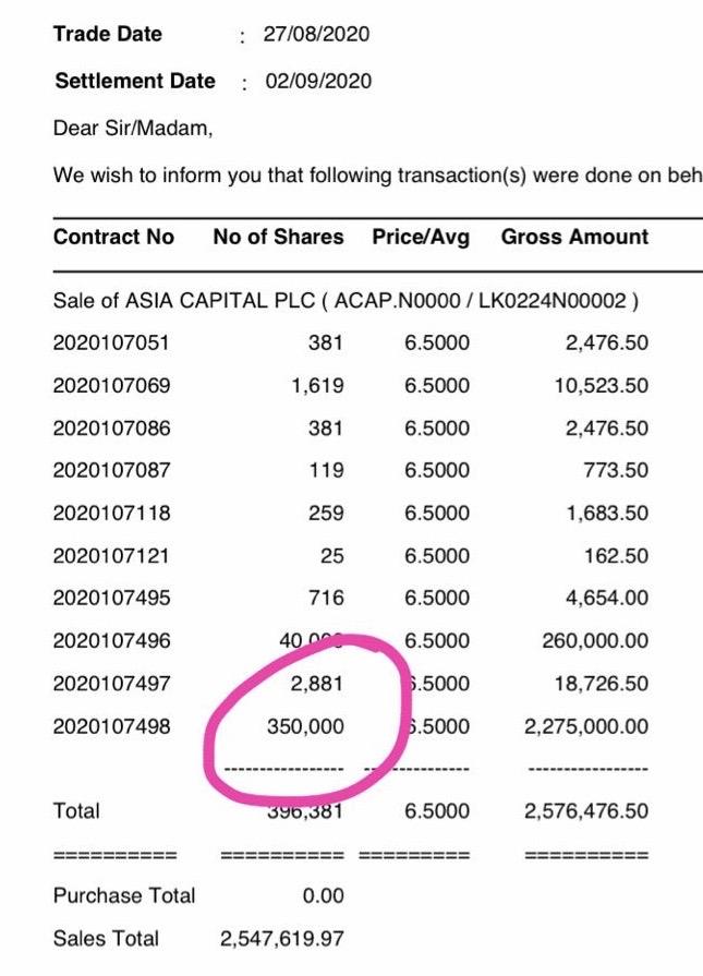 ASIA CAPITAL PLC (ACAP.N0000) - Page 19 E7534411