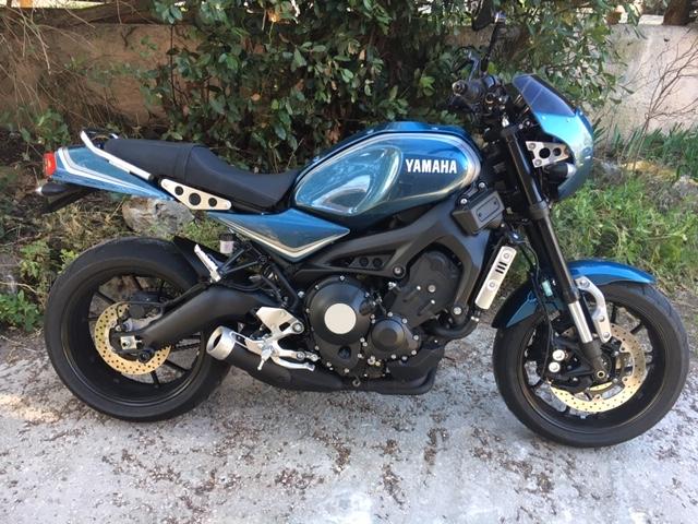 Photos de toutes les Yamaha XSR 900 du forum ! :) - Page 2 Xsr_110