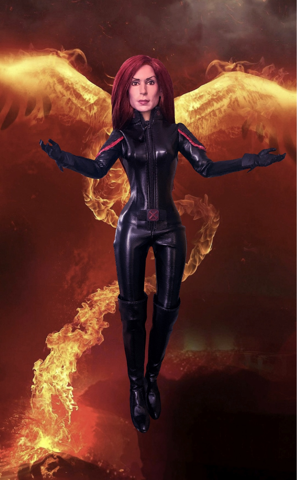 phoenix - Customized Famke Janssen/Jean Grey/Phoenix head E66ca710