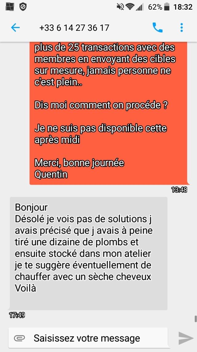 Problème Airforce Condor ss .22 Screen83