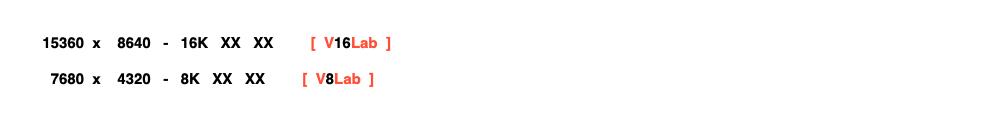NORMES  -  VideoLAB  -  2019  -  #Video #8k #6k #4k #1080p #720p #540p #Codec #Fps  -- Haut11
