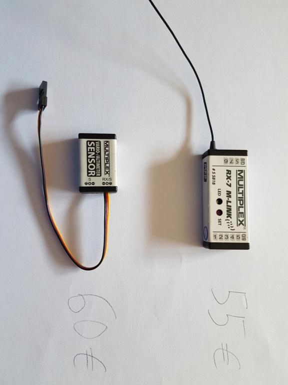 (Vends)  récepteur Multiplex Rx7+sonde vario/alti 20200210