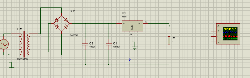 Regulation de tension 7805_r10
