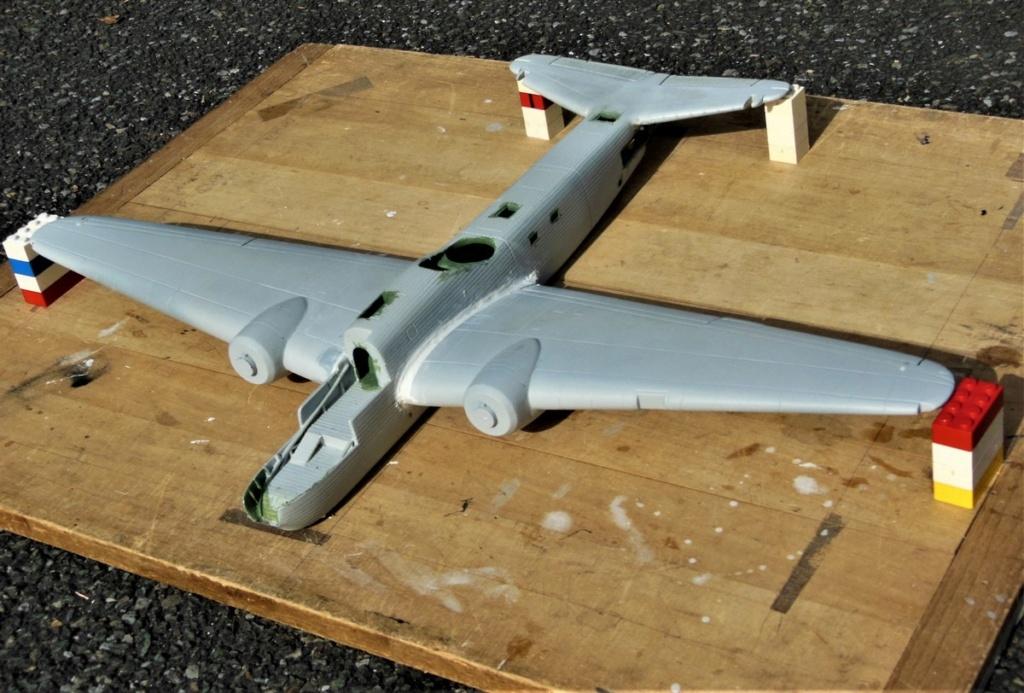 """Armstrong-Whitworth AW 41 """"ALBEMARLE"""" au 1/48 scratch en bois massif (Projet AA): préparation à la peinture - Page 9 0217"""