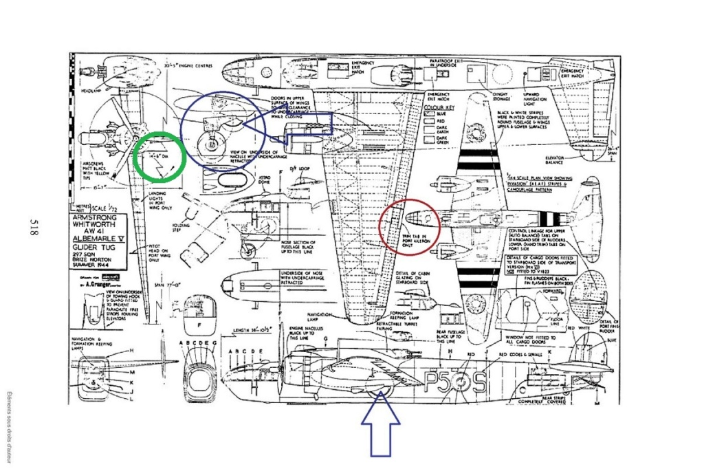 "Armstrong-Whitworth AW 41 ""ALBEMARLE"" au 1/48 scratch en bois massif (Projet AA):  moteurs et hélices - Page 5 0412"