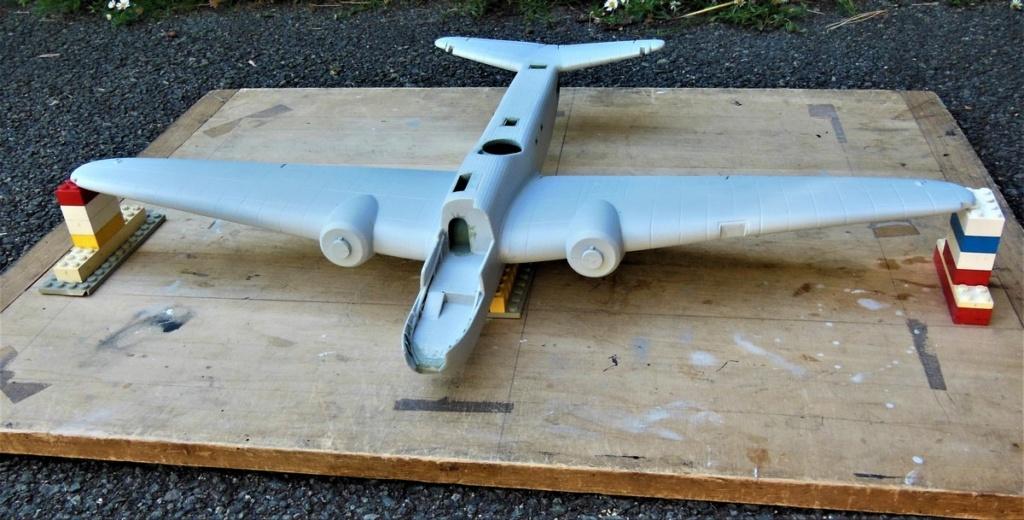 """Armstrong-Whitworth AW 41 """"ALBEMARLE"""" au 1/48 scratch en bois massif (Projet AA): préparation à la peinture - Page 9 0514"""