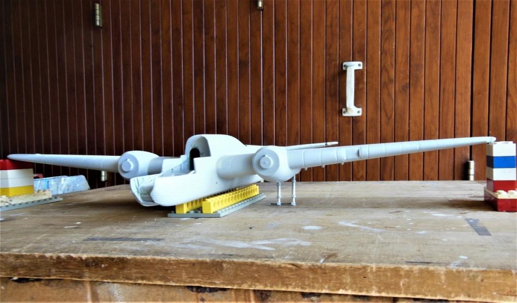 """Armstrong-Whitworth AW 41 """"ALBEMARLE"""" au 1/48 scratch en bois massif (Projet AA): préparation à la peinture - Page 9 1514"""