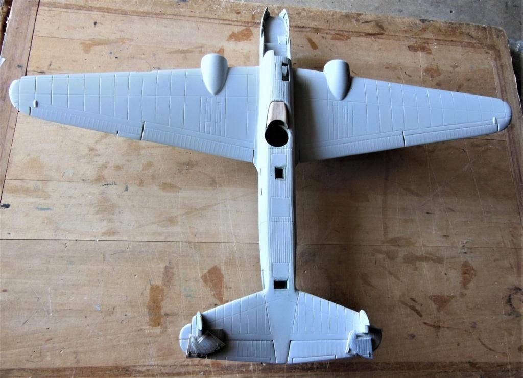 """Armstrong-Whitworth AW 41 """"ALBEMARLE"""" au 1/48 scratch en bois massif (Projet AA): préparation à la peinture - Page 9 2315"""