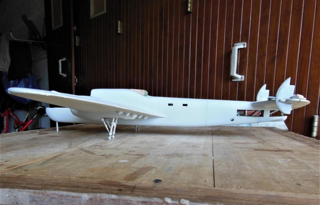 """Armstrong-Whitworth AW 41 """"ALBEMARLE"""" au 1/48 scratch en bois massif (Projet AA): préparation à la peinture - Page 9 2415"""