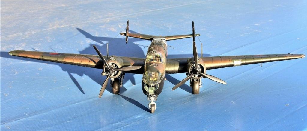 Armstrong Whitworth AW 41 ALBEMARLE 1/48 scratch en bois massif (Projet AA) : photos du modèle fini et historique de sa dernière mission. Emballage pour Expo des 4 & 5 septembre - Page 2 3617