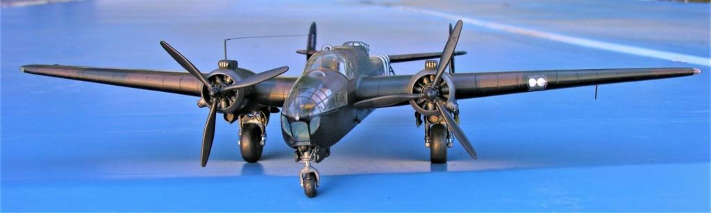 Armstrong Whitworth AW 41 ALBEMARLE 1/48 scratch en bois massif (Projet AA) : photos du modèle fini et historique de sa dernière mission. Emballage pour Expo des 4 & 5 septembre - Page 2 3818