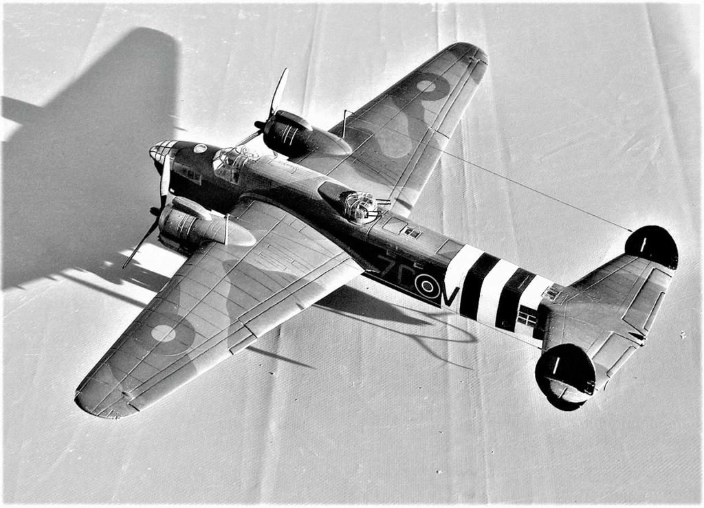 Armstrong Whitworth AW 41 ALBEMARLE 1/48 scratch en bois massif (Projet AA) : photos du modèle fini et historique de sa dernière mission. Emballage pour Expo des 4 & 5 septembre - Page 2 5615