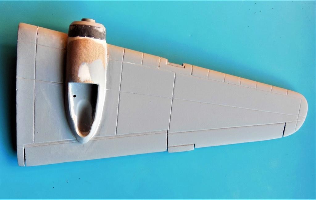 """Armstrong-Whitworth AW 41 """"ALBEMARLE"""" au 1/48 scratch en bois massif (Projet AA): Nacelles moteurs, puits de trains - Page 5 6011"""