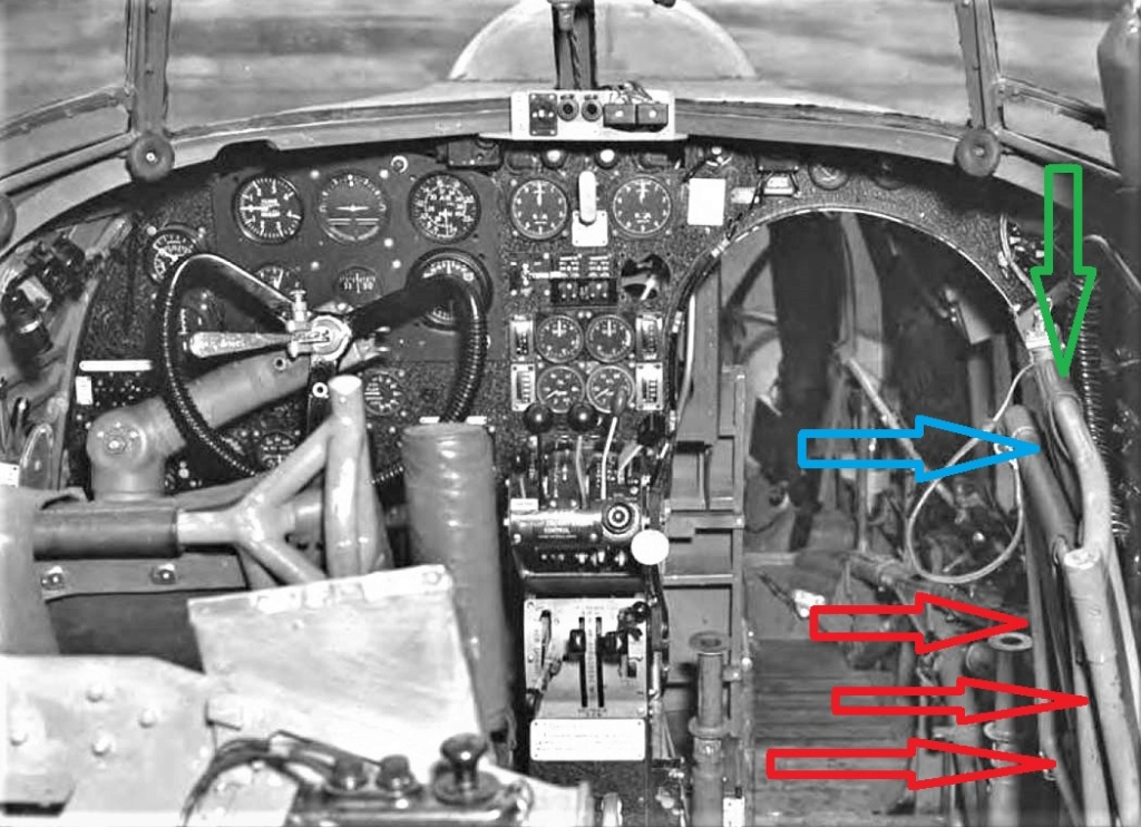"""Armstrong-Whitworth AW 41 """"ALBEMARLE"""" au 1/48 scratch en bois massif (Projet AA): préparation à la peinture - Page 9 6012"""