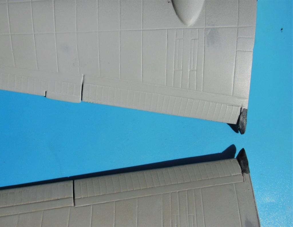 """Armstrong-Whitworth AW 41 """"ALBEMARLE"""" au 1/48 scratch en bois massif (Projet AA): préparation à la peinture - Page 9 8211"""