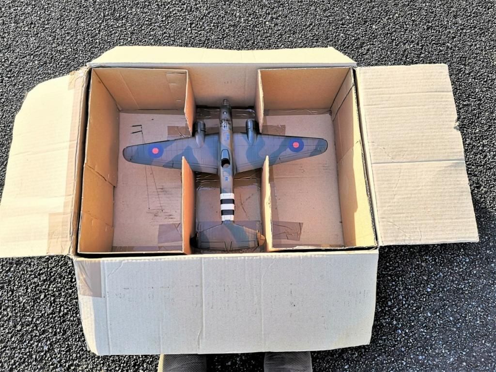 Armstrong Whitworth AW 41 ALBEMARLE 1/48 scratch en bois massif (Projet AA) : photos du modèle fini et historique de sa dernière mission. Emballage pour Expo des 4 & 5 septembre - Page 2 9718